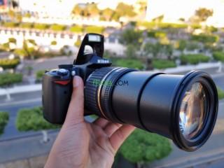 Nikon d5000 avc objectif 18-200