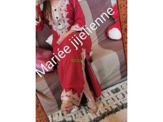 Robe marocaine pour l'aid