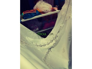 Robe de mariage achete en france