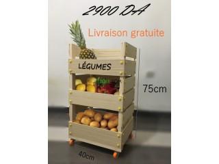 Chariot de légumes