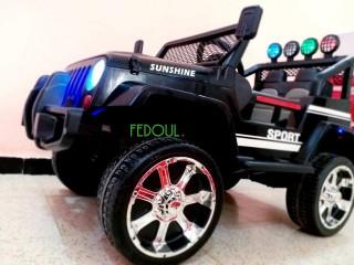 Voiture électrique enfants 4×4 jeep
