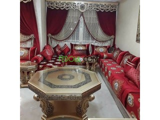 Salon marocain-the luxury wood-