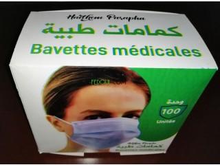 Bavettes medicales
