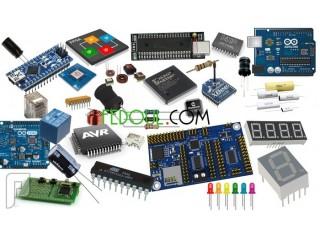 بيع قطع ومكونات إلكترونية composants électroniques
