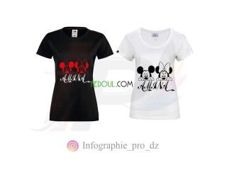 T-shirts personnalisés - الطباعة، الكتابة والرسم على القمصان