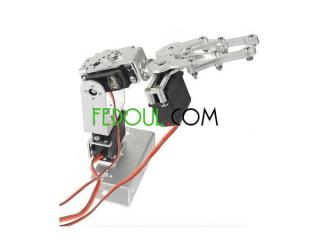 Bras mécanique à 3 DOF pour arduino