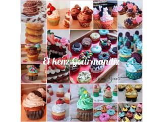 Cupcakes numbercakes donuts et Gâteau personnalisés