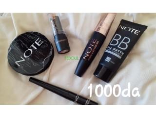 Maquillage packs de #note