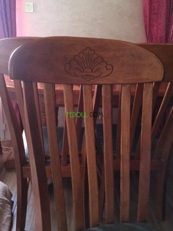 salle-a-manger-table-en-bois-massif-6-chaises-en-velours-big-3