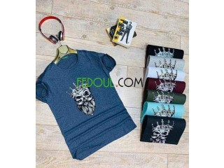 T-shirt 100% coton turquie