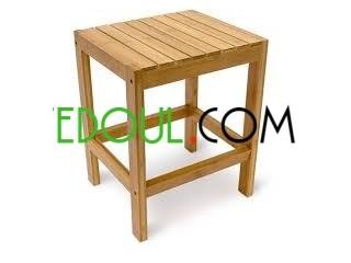 Les fenetre , les tables , les portes , en bois rouge sur commande