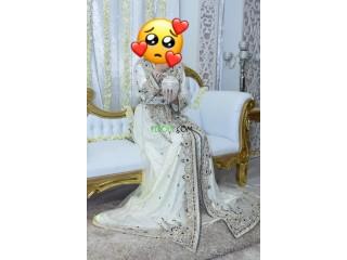 قفطان عروسة ملبوس خطرة