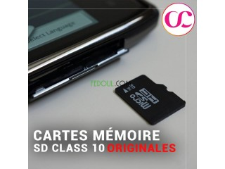 Cartes Mémoire SD Class 10 Originales