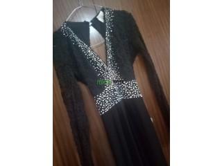 Robe soiree noir