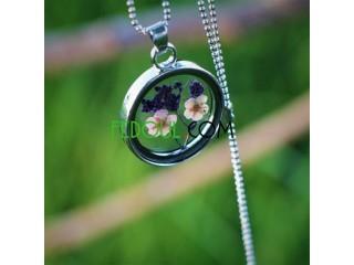 Colliers Fleurs Saisons (Séchés )