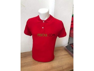 Tshirt polo simple