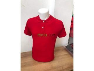 Tshirt polo simple