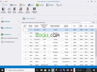 Yessna application gestion commercial