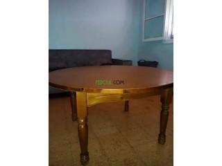 Table jdida de bois rouge