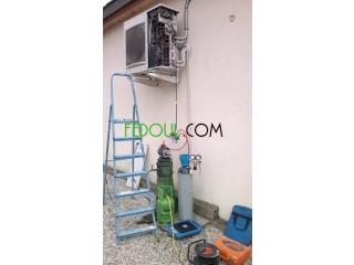 Réparation recharge gaz pour climatiseurs