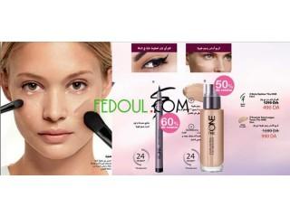 De produits cosmétiques oriflammes