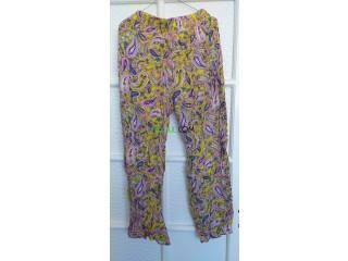 Pantalon zoulo d'Espagne à petit prix idéal pour l'été