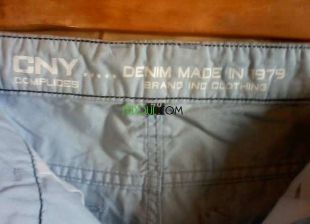 pantalon-toile-marque-complice-sroal-toal-mark-neuf-taille-40-gdyd-tay-big-3