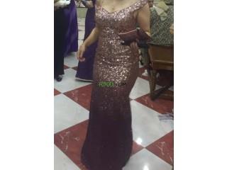 Une robe de soirée