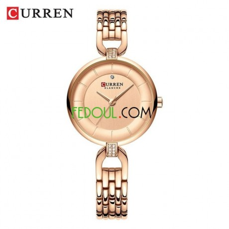 montre-femme-9052-acier-inoxydable-rose-gold-big-0