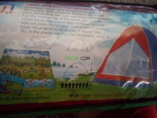 Tente 08 place