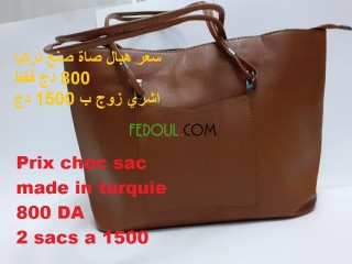 Sacs pour femme marque ZARA ET CHANNEL mode 2020 made in Turquie
