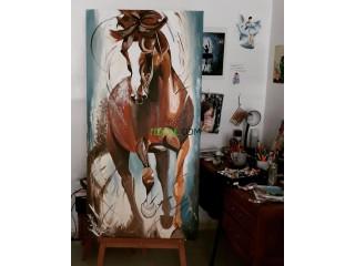 100% peintures à la main