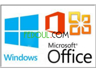 Tout genre de Windows et office (vente en gros ou details)