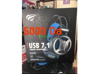 Casque 7.1 Gaming Havit USB PC/PS4/XBOX