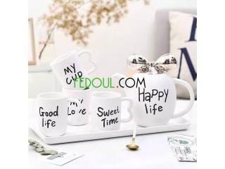 Service a café au lait disponible