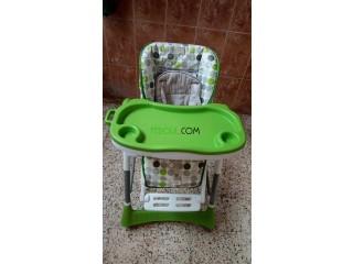 Chaise est en même temps poucette pour bébé