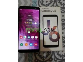 Samsung galaxy j6 noir.