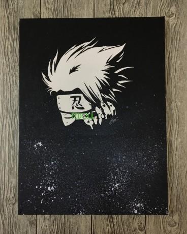 anime-kakashi-painting-tableau-artistique-big-0