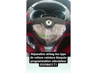 Réparation air bag