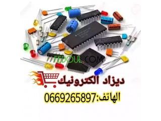 بيع القطع والمكونات والدوائر الالكترونية