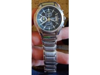 ساعة CASIO EF-512D حرة ( أصلية)