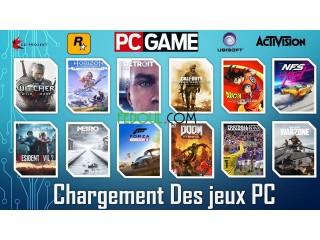 Chargement de Jeux PC sur Disque Dur