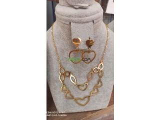 Bijoux en acier inoxydable chez accessoires almassmira