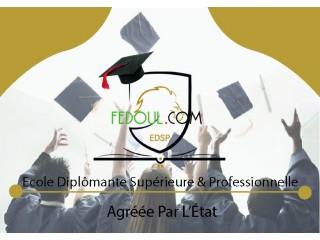 Un diplôme supérieur agréé sans baccalauréat