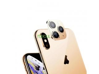 Cache caméra de iphone xs a iphone 11 pro max