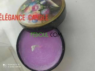 Des bougie parfumées personnalisées