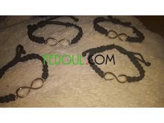 Bracelets et fondant personnalisés