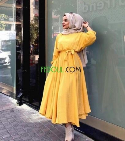 Moderne Très belle robe jaune, Bab Ezzouar TN-03