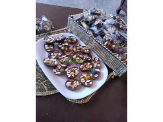 Les mendiants au chocolat
