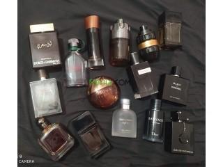 Parfums et cofferets (originaux)